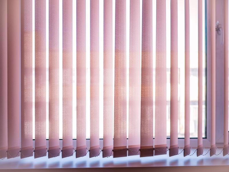 Vertical Blinds Sunlight
