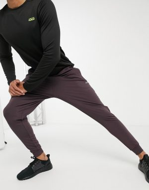 ASOS 4505 icon training skinny sweatpants with quick dry in brown
