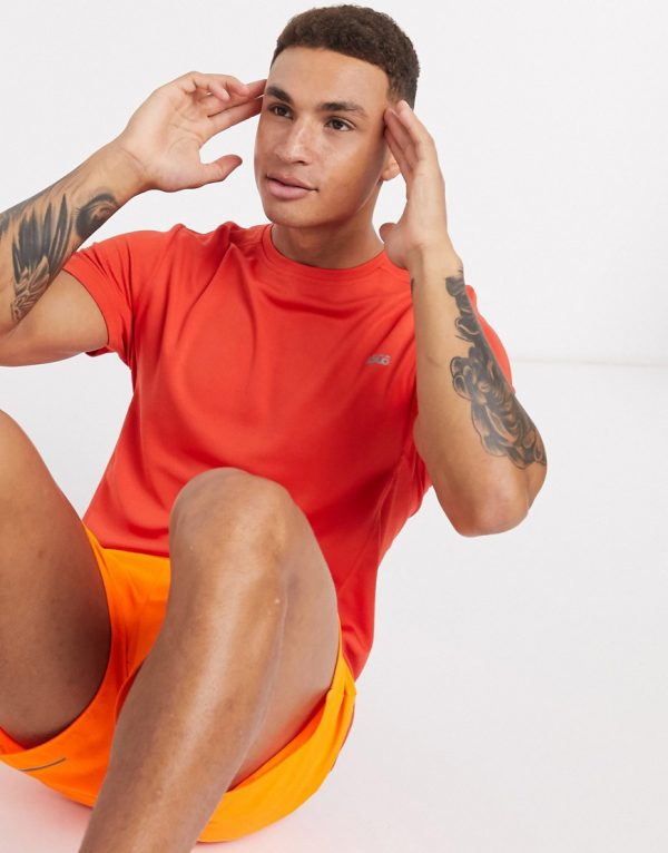ASOS 4505 icon training t-shirt with quick dry in red