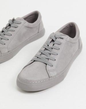 ASOS DESIGN sneakers in gray