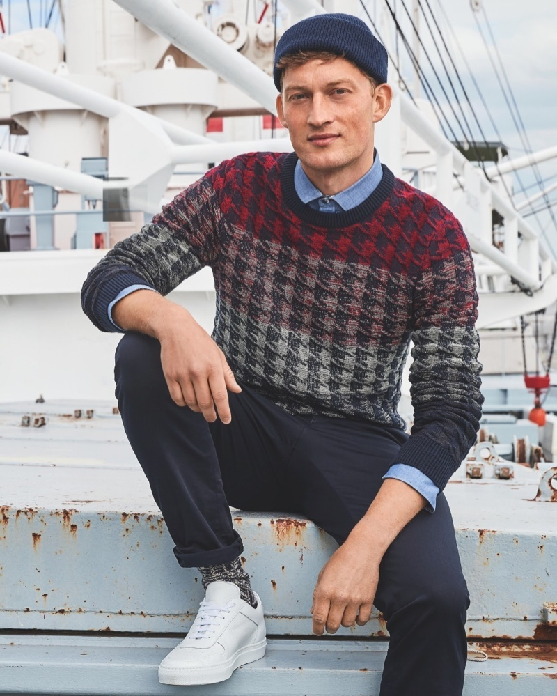 Bastian, Selle & Christoffer Front Anson's Fall '20 Campaign