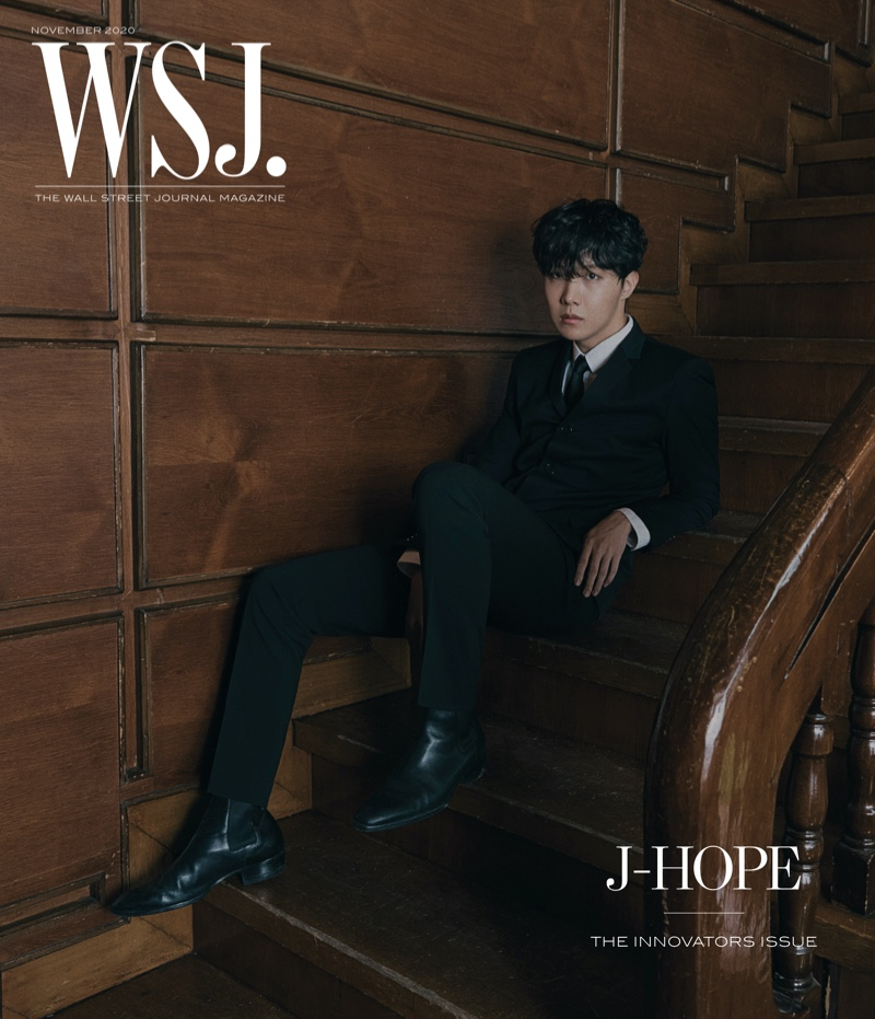J-Hope covers the 2020 Innovators issue of WSJ. magazine.