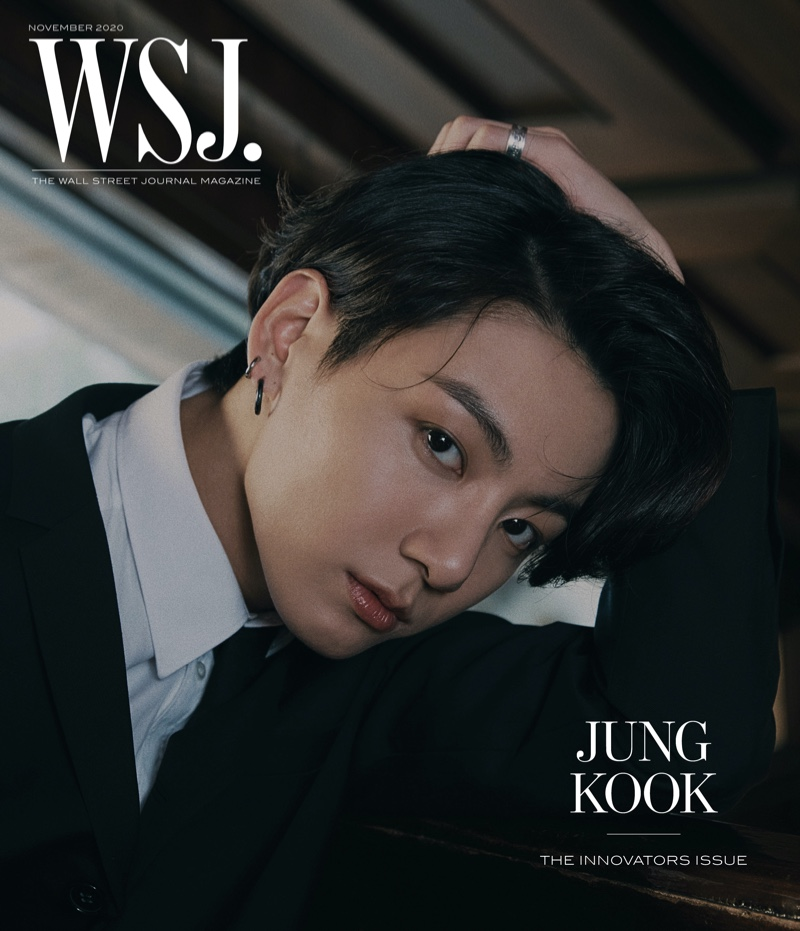Jung Kook covers the 2020 Innovators issue of WSJ. magazine.
