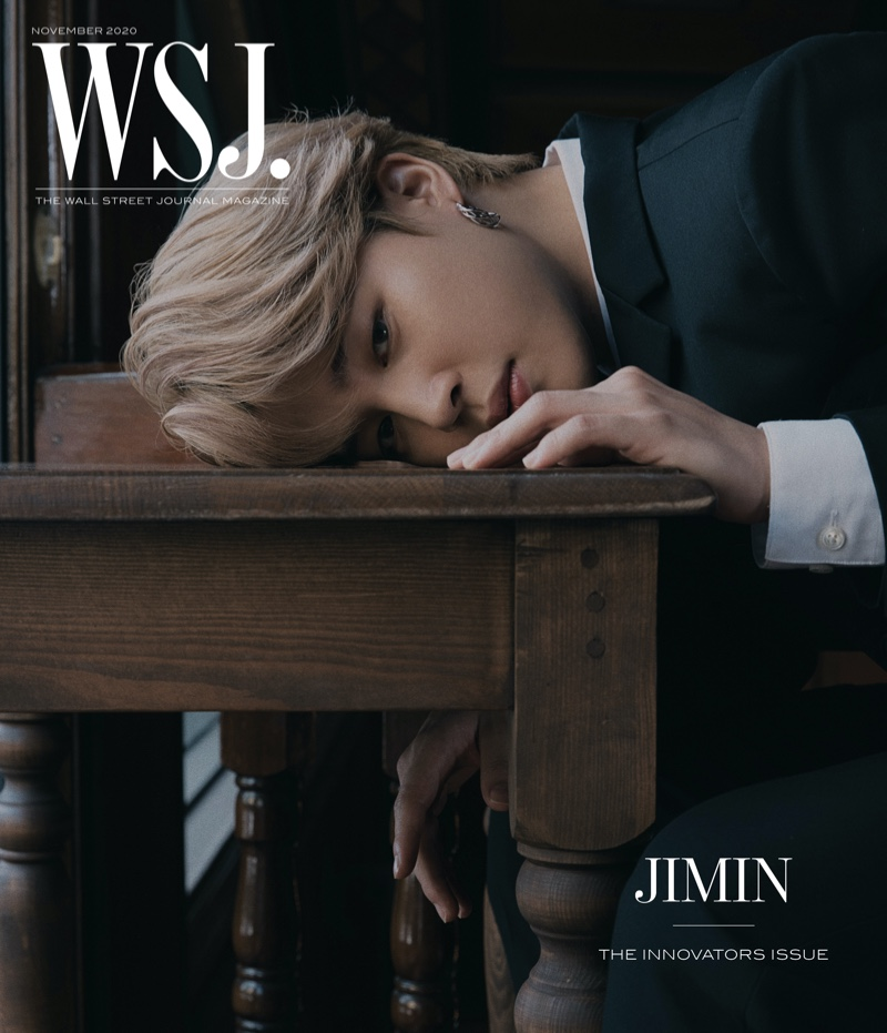 Jimin covers the 2020 Innovators issue of WSJ. magazine.