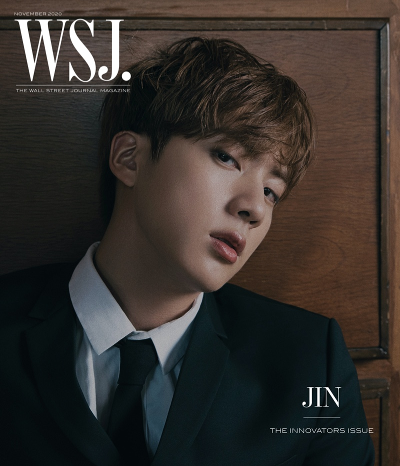 Jin covers the 2020 Innovators issue of WSJ. magazine.