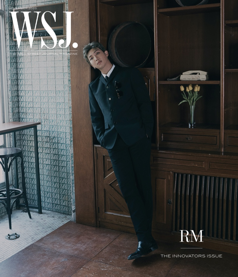 RM covers the 2020 Innovators issue of WSJ. magazine.