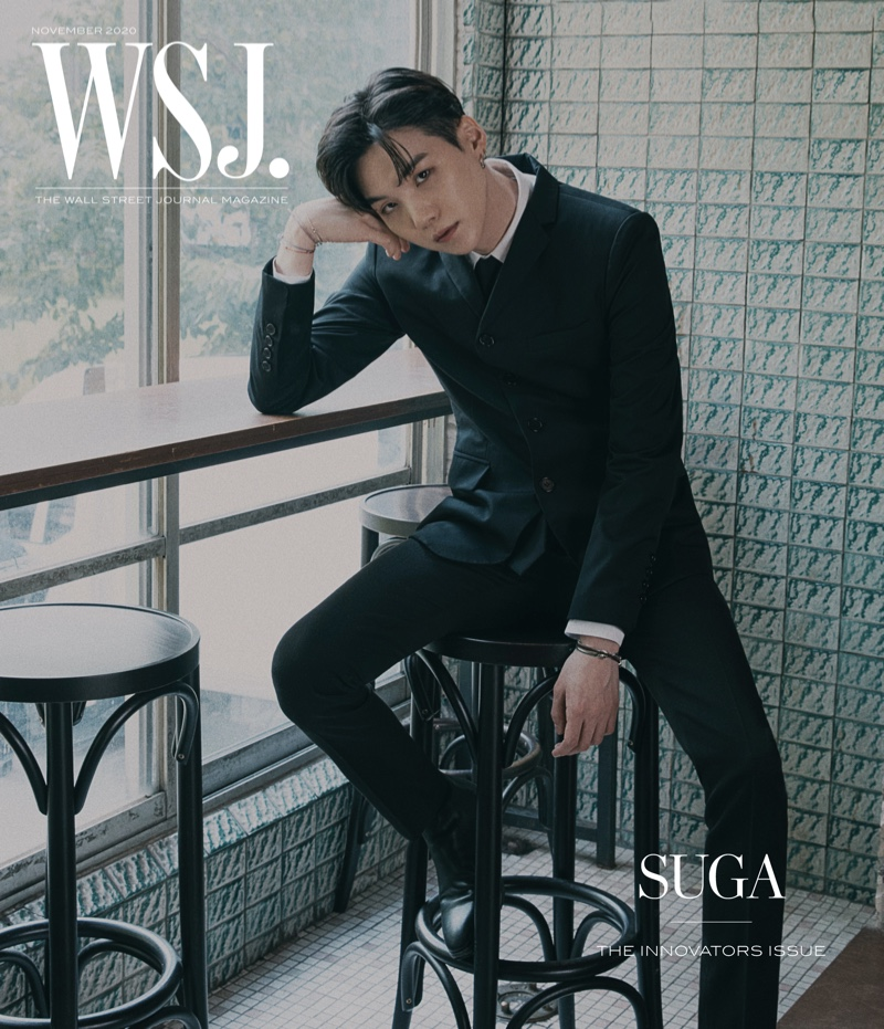 Suga covers the 2020 Innovators issue of WSJ. magazine.