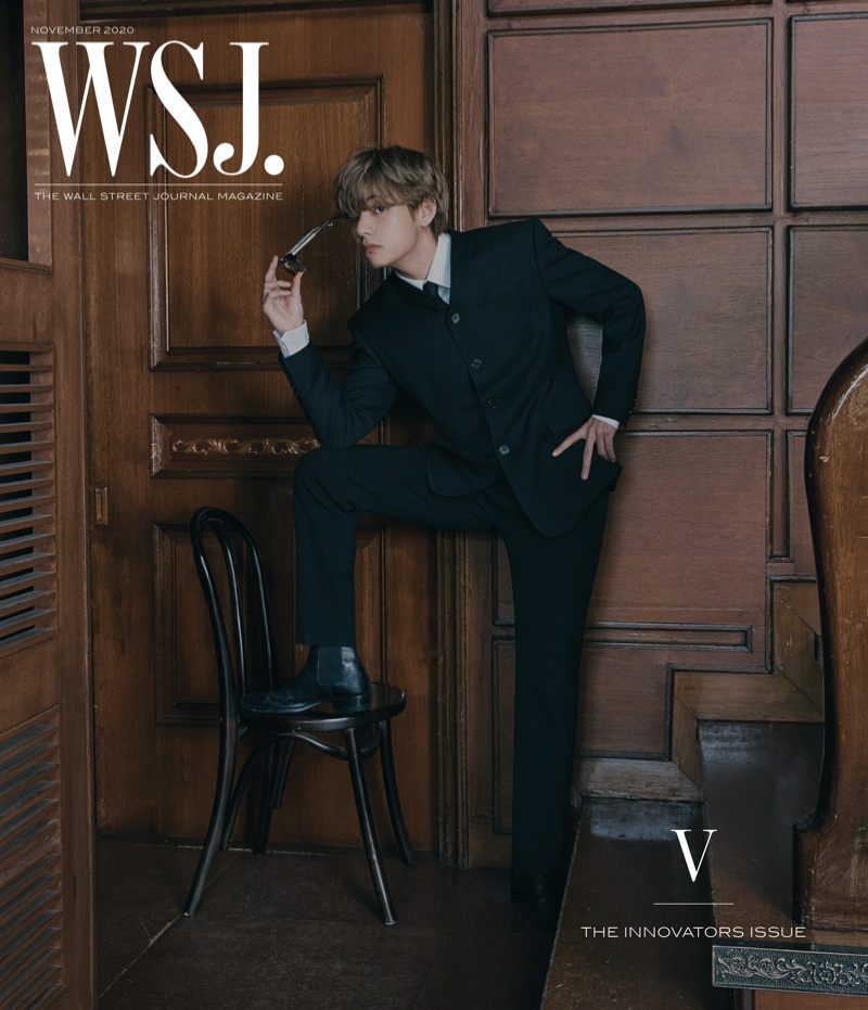 V covers the 2020 Innovators issue of WSJ. magazine.