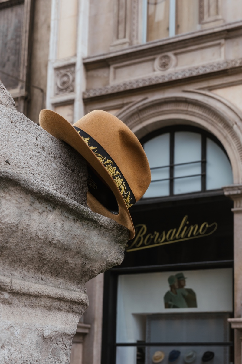 Borsalino Launches New Bogart Hat