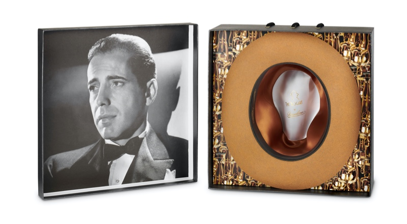 Interior of Bogart by Borsalino Cut 5 Hat Box