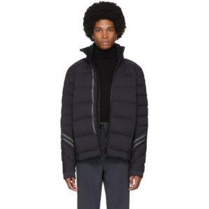 Canada Goose Black Black Label Hybridge CW Bomber Jacket