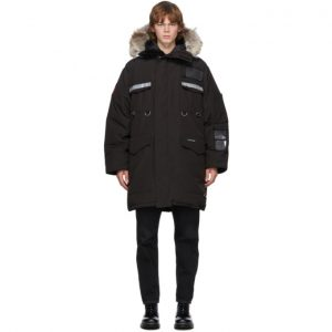 Canada Goose Black Down Resolute Parka