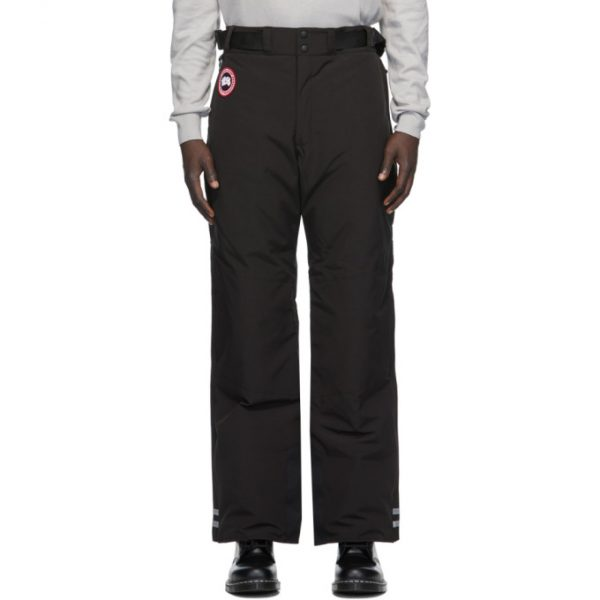 Canada Goose Black Down Tundra Pants