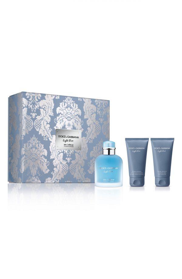 Dolce & gabbana Light Blue Eau Intense Pour Homme Set (Usd $119 Value), Size - One Size