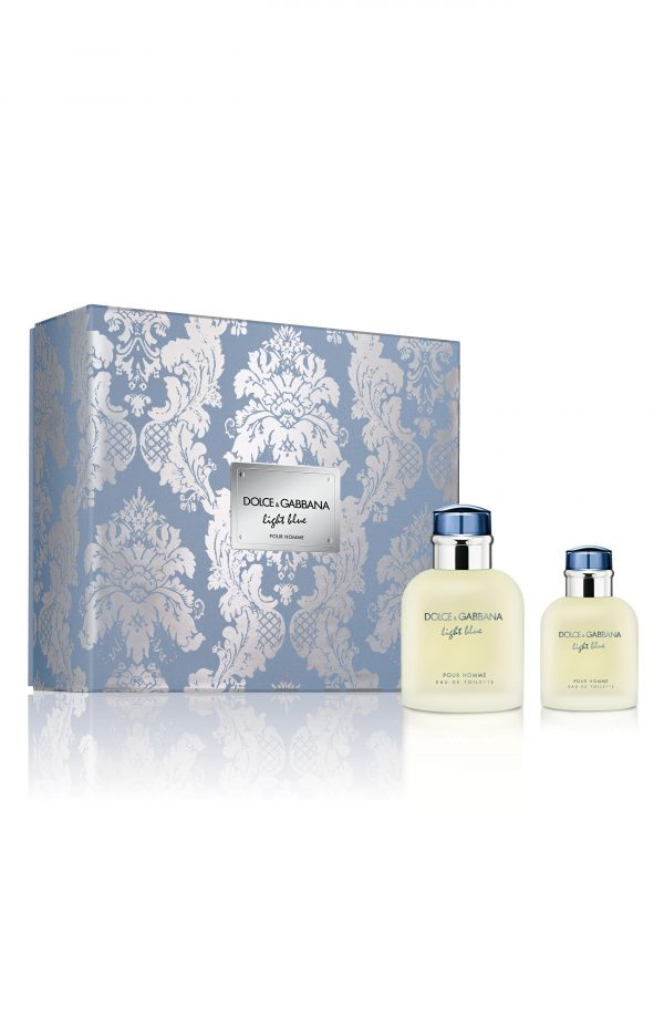 Dolce & gabbana Light Blue Pour Homme Eau De Toilette Set (Usd $176 Value), Size - One Size