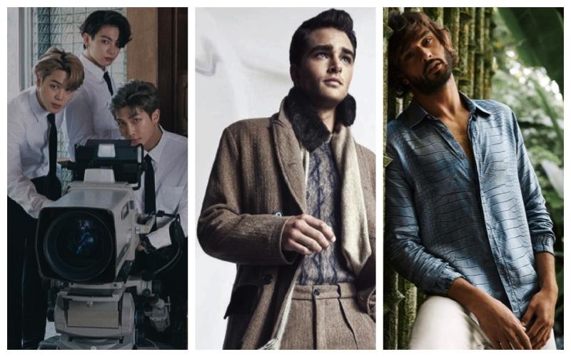 Week in Review: BTS, Giorgio Armani, Roberto Cavalli + More