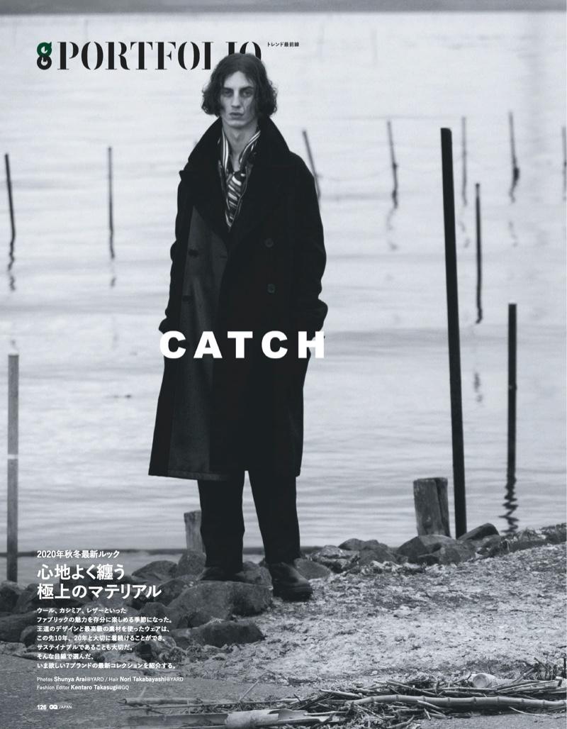 Catch the Moment: Reuben & Ariel for GQ Japan
