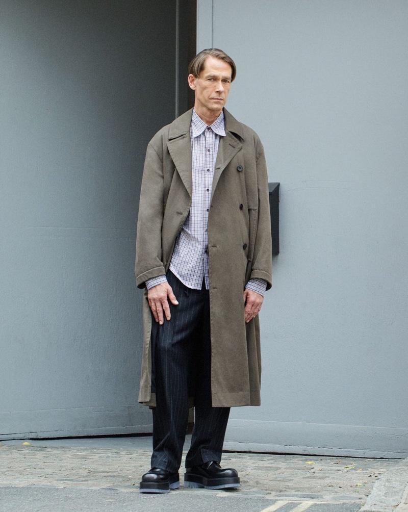 Ingo Models a 'Seasonless Wardrobe' for MatchesFashion