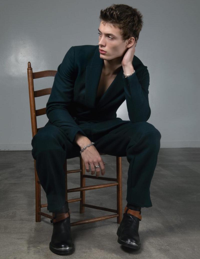 João Dons Dark Styles for L'Officiel Hommes Italia