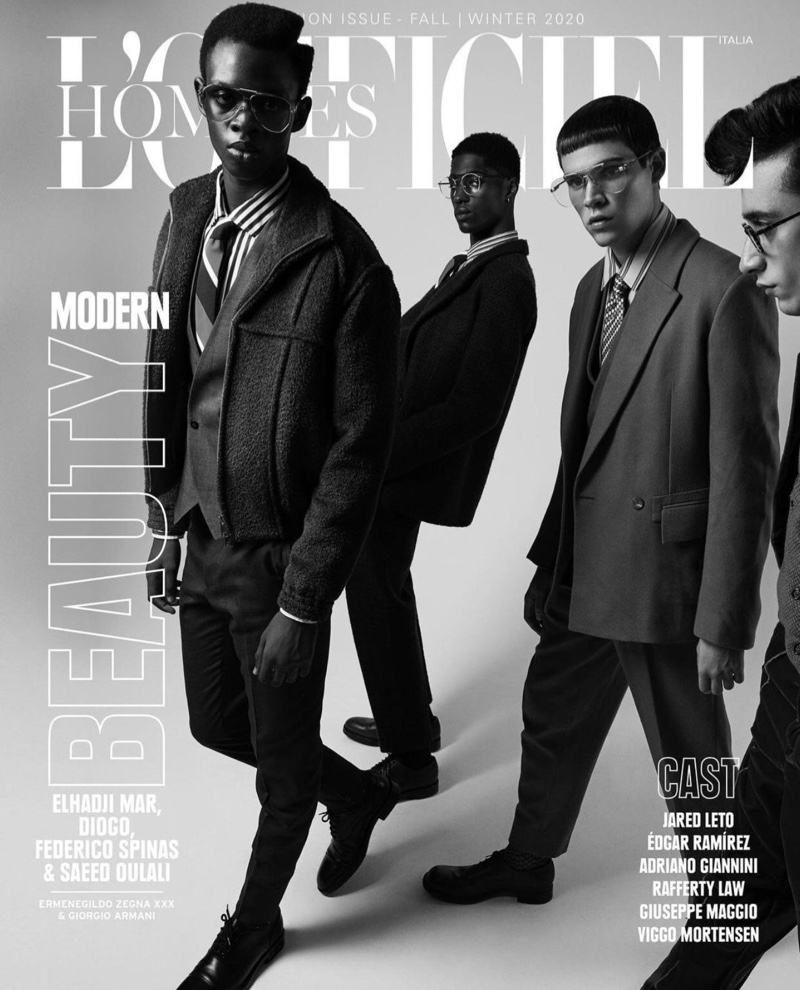 Jean, Federico + More Turn Heads for L'Officiel Hommes Italia