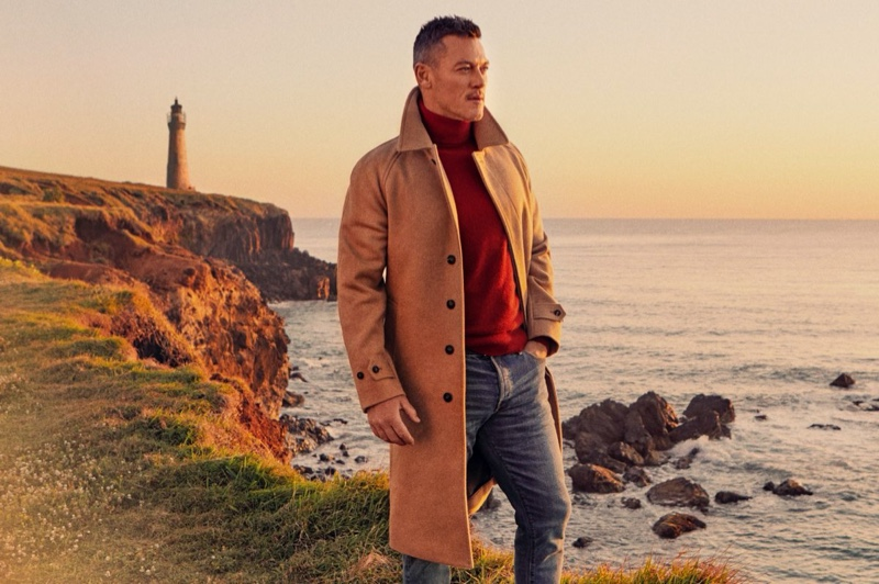 Luke Evans links up with Todd Snyder for a fall-winter 2020 outing.