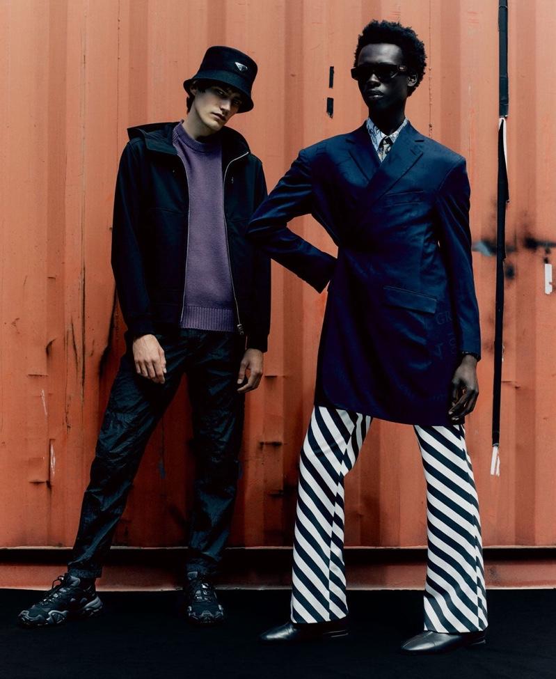 Forward Look: Elias & Emmanuel Don Bold Style for MatchesFashion