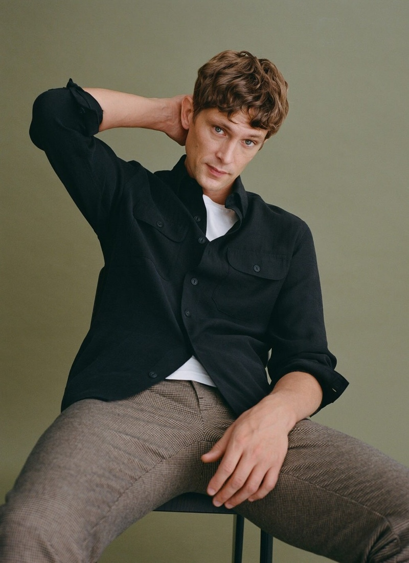 Mathias Layers in Fall Styles from Mango