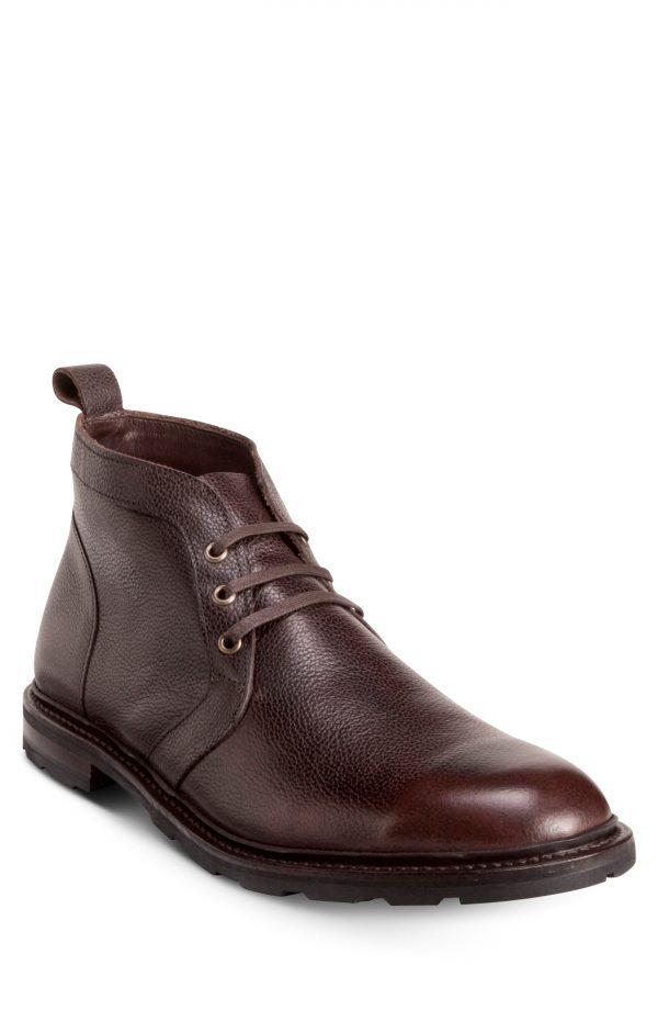 Men's Allen Edmonds Alpine Waterproof Chukka Boot, Size 8.5 D - Brown