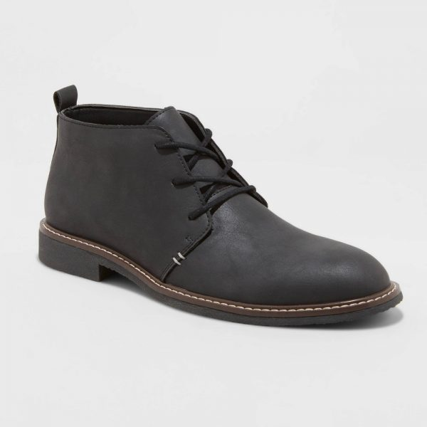 Men's Granger Chukka Boots - Goodfellow & Co Black 7
