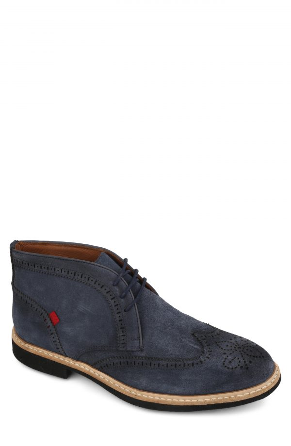 Men's Marc Joseph Hubert Street Wingtip Chukka Boot, Size 12 M - Blue