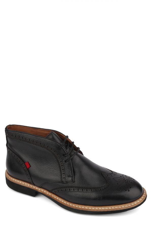 Men's Marc Joseph Hubert Street Wingtip Chukka Boot, Size 7 M - Black