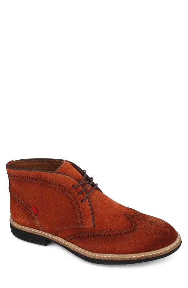 Men's Marc Joseph Hubert Street Wingtip Chukka Boot, Size 7 M - Red