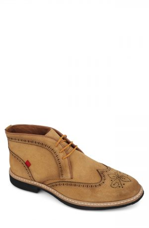 Men's Marc Joseph Hubert Street Wingtip Chukka Boot, Size 7 M - Yellow