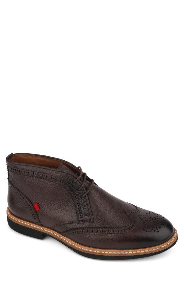 Men's Marc Joseph Hubert Street Wingtip Chukka Boot, Size 8 M - Brown