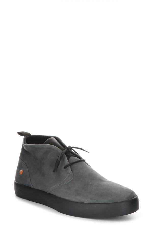 Men's Softinos By Fly London Rafa Chukka Boot, Size 7US - Grey
