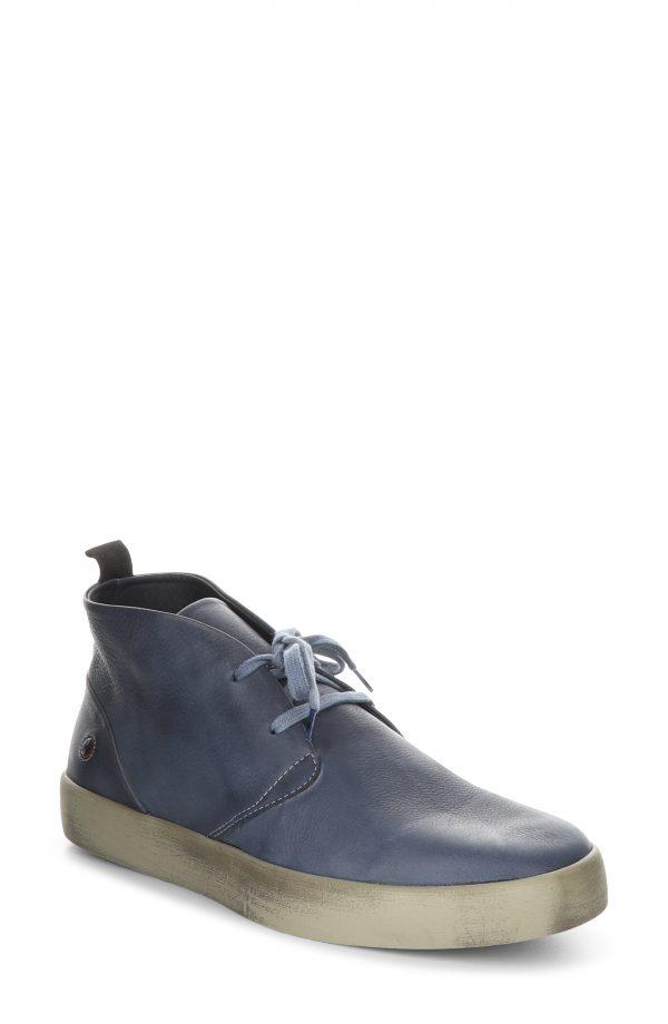 Men's Softinos By Fly London Rafa Chukka Boot, Size 8US - Blue