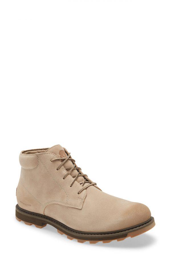 Men's Sorel Madson Ii Waterproof Chukka Boot, Size 7 M - Beige