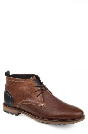 Men's Thomas & Vine Logan Waterproof Chukka Boot, Size 8 M - Brown