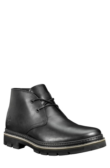 Men's Timberland Port Union Waterproof Chukka Boot, Size 11 M - Black