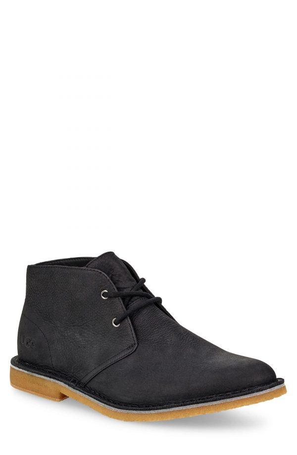 Men's UGG Groveland Chukka Boot, Size 7 M - Black