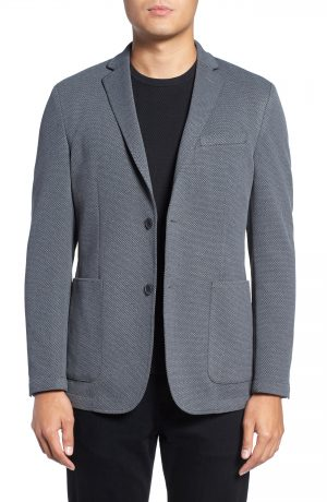 Men's Vince Camuto Slim Fit Stretch Knit Sport Coat, Size X-Large - Grey