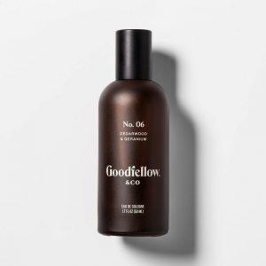 No. 6 Cedarwood & Geranium Men's Spray Cologne - 1.7 fl oz - Goodfellow & Co