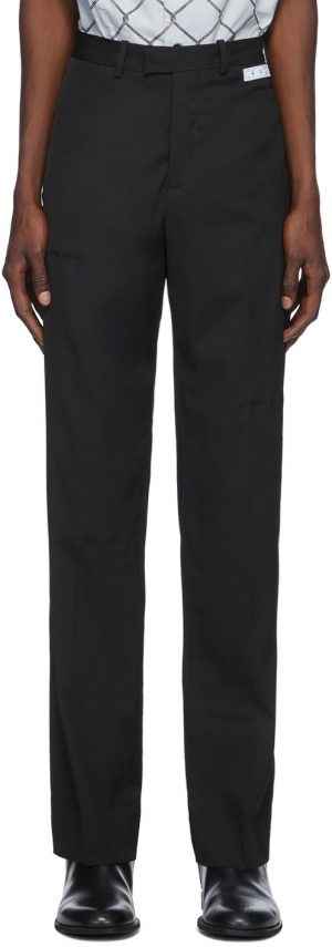 Off-White Black Formal Trousers