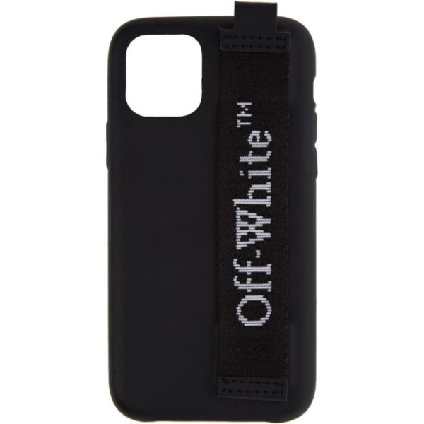 Off-White Black Industrial Logo iPhone 11 Pro Case