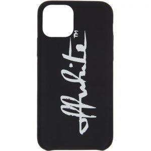 Off-White Black Logo iPhone 11 Pro Case