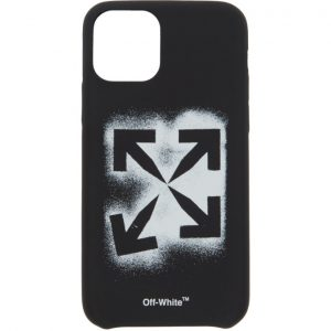 Off-White Black Stencil iPhone 11 Pro Case