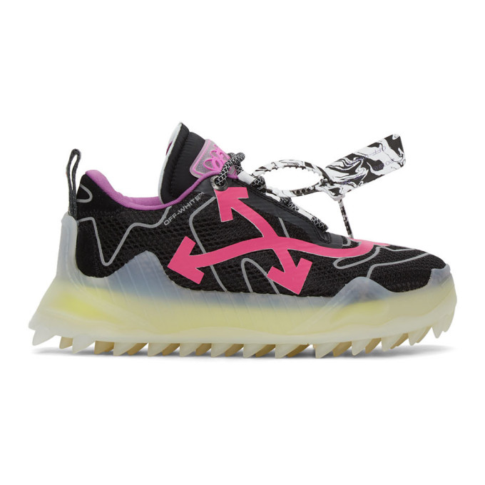 Off-White Black and Pink Odsy-1000