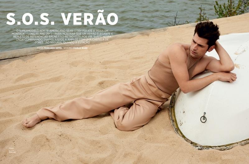 Sean Hits the Beach for GQ Brasil