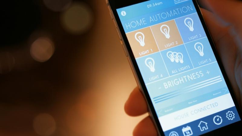 Smarthome App Screen Phone