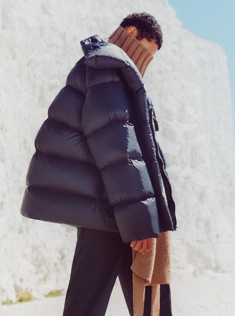 Sol Dons Winter Coats for Harrods